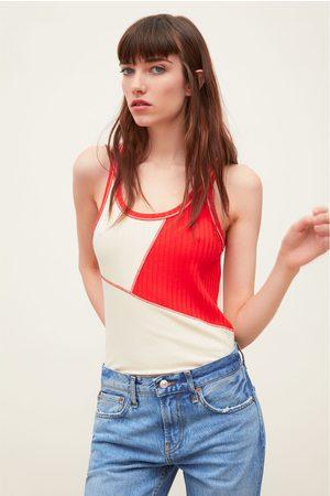 Zara Two-tone t-shirt