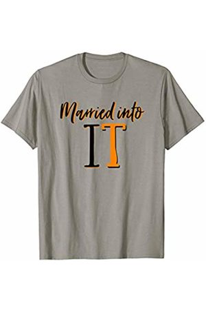 Tennessee State Flag Home Shirt Co. Married Into It Tennessee Sports Fan Wife Dont Blame Me Gift T-Shirt