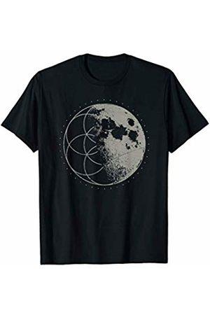 Sacred Geometry Yoga Mandala Psychedelic Occult Sacred Geometry Seed of Life Moon Psychedelic Yoga Chakra T-Shirt