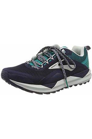 Brooks Men's Cascadia 14 Running Shoes, (Navy/ Grass/ 478)