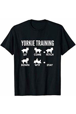 PedigreePrints Yorkie Training - Yorkshire Terrier Tricks T-Shirt