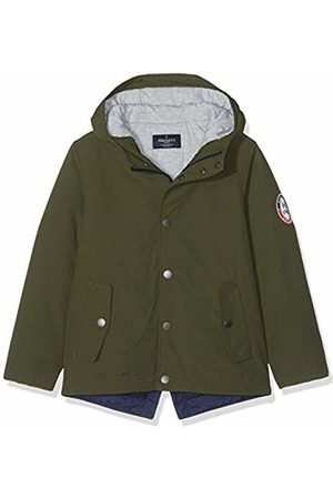 Hackett Boy's Parka Lt Jacket, (Forest 682)
