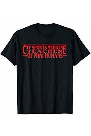 High School Squad Team by Crush Retro CTE Sports Medicine Teacher of Mini Humans Team Gifts T-Shirt