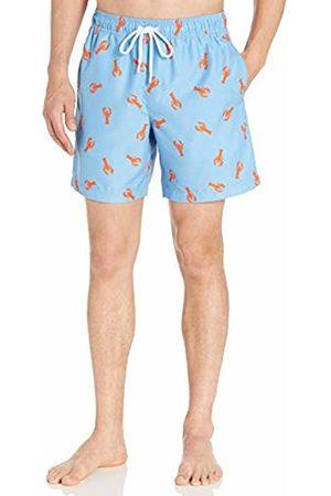 "Amazon 7"" Print Swim Trunk Lobster"