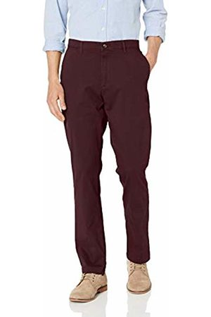 Amazon Athletic-Fit Broken-in Chino Pant Burgundy