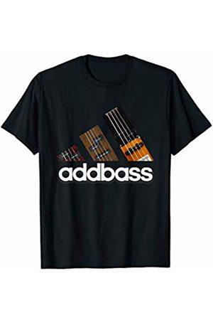 Bass Guitar Gift Apparel Women T-shirts - Add Bass Funny Music Musician Humor Men Women Joke T Shirt T-Shirt