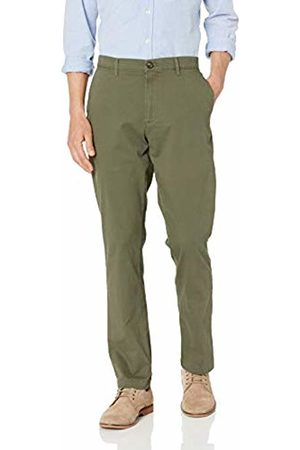 Amazon Athletic-Fit Broken-in Chino Pant Olive
