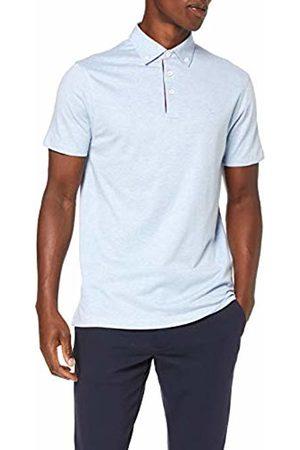Hackett Men's's Tie Stripe Trim Polo Shirt