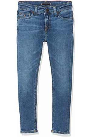 Tommy Hilfiger Boy's Simon Skinny Glfbst Jeans, Glen Fresh Stretch 911