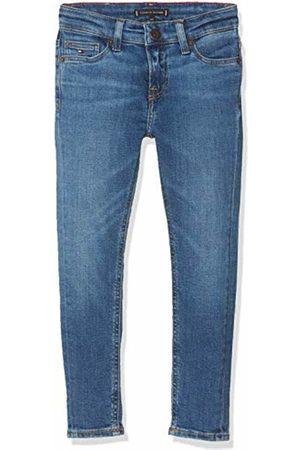 Tommy Hilfiger Boy's Simon Skinny Glfbst Jeans, Glen Fresh Stretch 911
