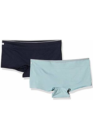 Sloggi Women Move Seamless Shorty C2p Hipster, ((Turquoise Dark Combination M)