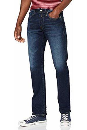 Replay Men's Waitom Straight Jeans, (Dark 7)