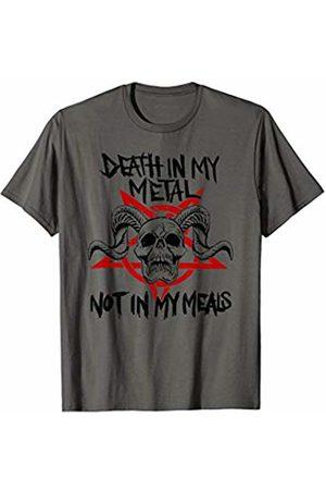 Vegan Heavy Metal Apparel Death in my Metal
