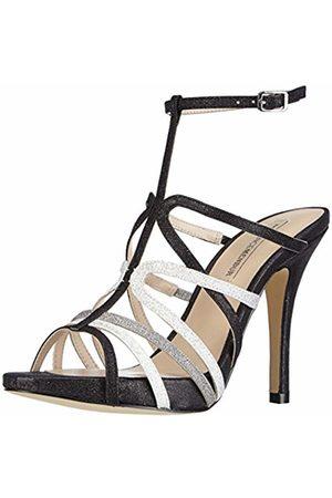 Menbur Womens Darro Ankle Strap Sandals Schwarz (Schwarz Multi 01) Size: 6