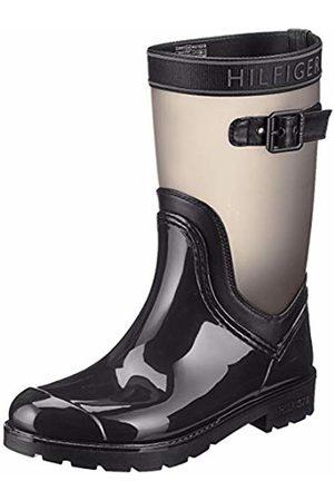 Tommy Hilfiger Women's Translucent Detail Rain Boot Chelsea ( 990)