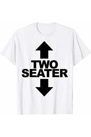 Miftees Two Seater Drinking Tee Funny Adult Humor T-Shirt