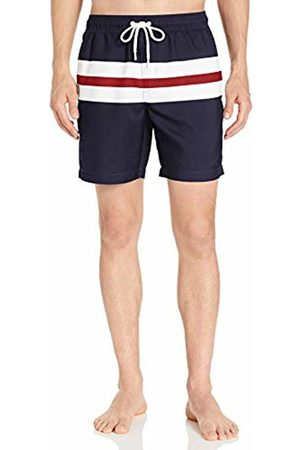 """Amazon 7"""" Stripe Swim Trunk / Big"""