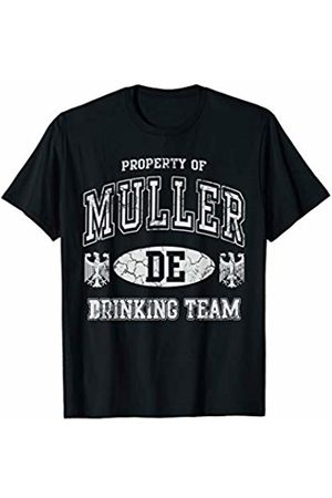 Tee Styley Muller German Drinking Team Oktoberfest Germany Family T-Shirt