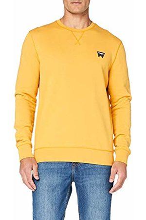 Wrangler Men's Sign Off Crew Sweatshirt, (Mineral AYM)