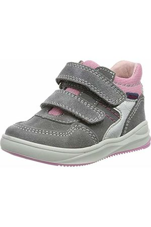 Richter Kinderschuhe Girls' Harry Hi-Top Trainers 7 UK