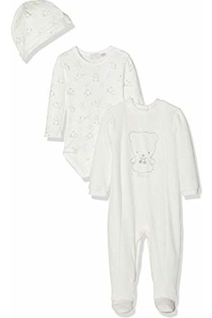 chicco Baby Rompers - Baby Trousse: Tutina Body Con Cappello Footies