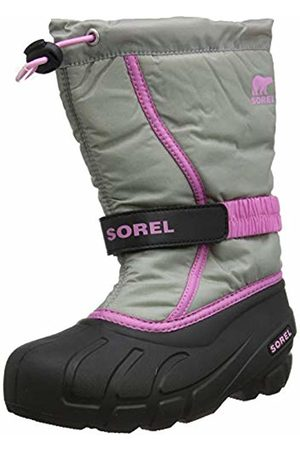 sorel Unisex Kid's Youth Flurry Snow Boots, (Chrome 061)
