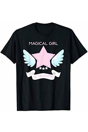 Pastel Goth Shirt Boutique Goth Magical Training Star & Wings Design T-Shirt