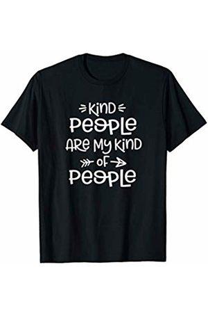 HustlaGirl Women T-shirts - Kind People Are My Kinda People Kindness T-Shirt