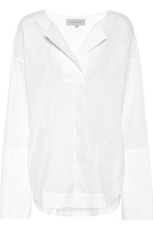 Lee Mathews Elsie cotton-blend blouse