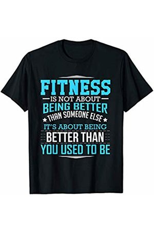 Physical Fitness Motivation Designs Physical Fitness & Training Motivational T Shirt
