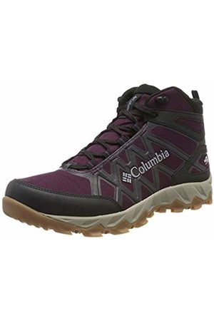 Columbia Women's Peakfreak X2 MID Outdry High Rise Hiking Boots, ( Cherry, C 639)