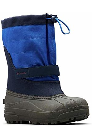 Columbia Unisex Kids Powderbug Plus II Multisport Outdoor Shoes, (Collegiate Navy/Chili 464)