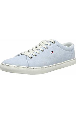 Tommy Hilfiger Men's Essential Craft Vulc Low-Top Sneakers, (Chambray 458)