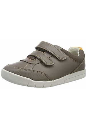 Clarks Girls' Tiny Dusk T Low-Top Sneakers, Leather