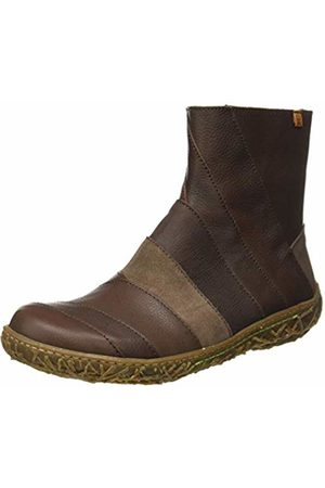 El Naturalista Women's N5440 Mix Leather /Nido Ankle Boots
