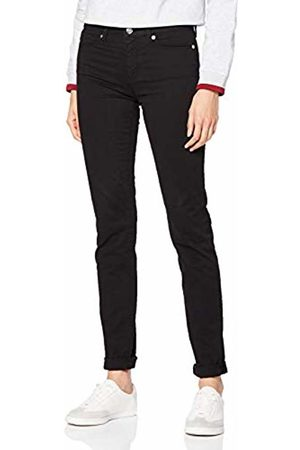 Love Moschino Women's Heart Print On Back Pocket_Skinny Fit Trousers ( C74)