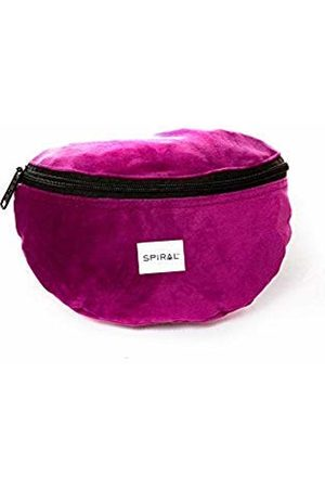 Spiral Mulberry Velvet Bum Bag Sport Waist Pack, 23 cm