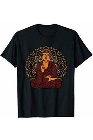 Pure Zen Mandala Buddhist Gifts Mandala Chakra Meditation Buddha Yoga T-Shirt - Zen Gift
