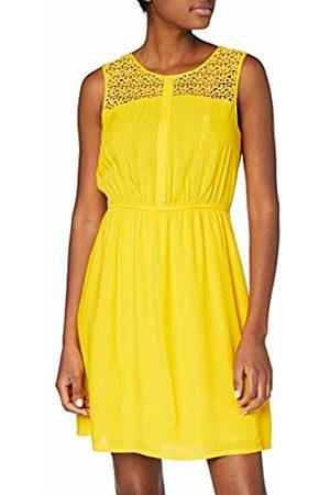 Tom Tailor Women's 1010553 Dress, (Golden 17278)