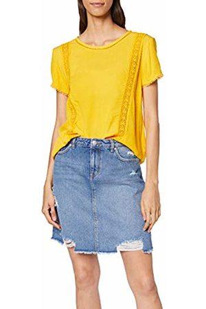 Tom Tailor Women's 1010672 T-Shirt, (Golden 17278)