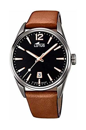 Lotus Mens Analogue Quartz Watch with Leather Strap 18685/2
