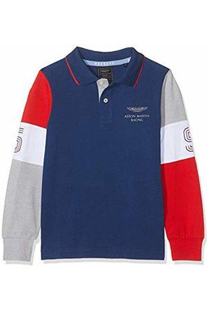 Hackett Boy's Aston Martin Racing Slv Pn Ls Polo Shirt Dark 581)