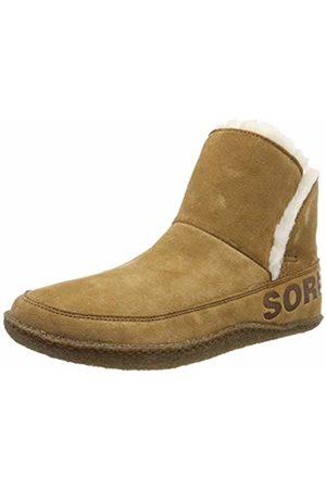 sorel Women's Nakiska Bootie Hi-Top Slippers, (Camel 224)