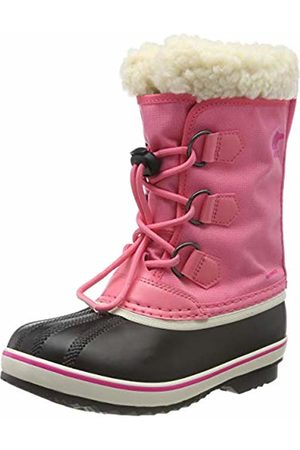 sorel Unisex Kid's Yoot PAC Nylon Snow Boots, (Lollipop, 674)