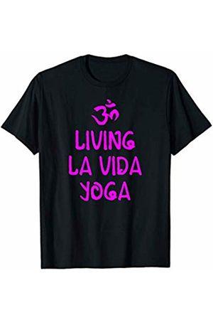 Living La Vida Yoga - Yoga Shirts & More Living la vida yoga funny yoga T-Shirt