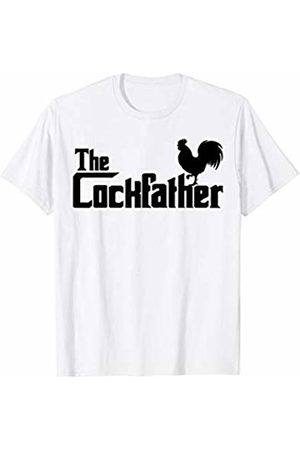 Miftees The Cockfather funny Cock Father Rooster T-Shirt