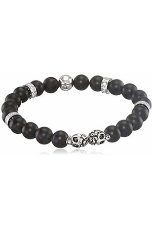 Von Lukacs Men Onyx Stretch Bracelet TWSBO8M