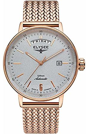ELYSEE Unisex Adult Analogue Automatic Watch with Stainless Steel Strap 13298M
