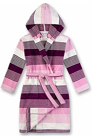 Sanetta Girl's Bademantel Dressing Gown, (Dark 6140)