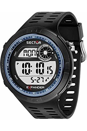 Sector No Limits Mens Digital Watch with Plastic Strap R3251527003